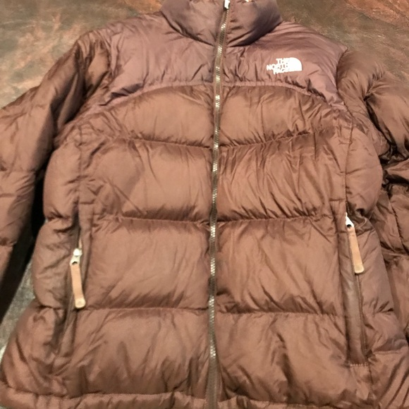 8ff128d0d3be The North face women s 700 brown puffer jacket. M 5ab9066e50687c08f7670d01